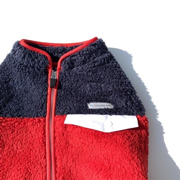 seven seas dog Multi fleece jacket セブンシーズドッグ マルチフリースジャケット_d0217958_16065974.jpeg