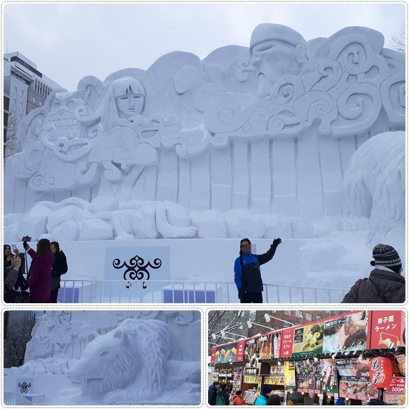 札幌雪祭り会場へ(1)_b0236665_05415208.jpg
