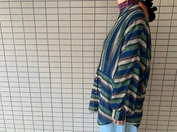 CHIGNONSTAR☆柄タックドルマンShirt☆彡_e0269968_15384999.jpg