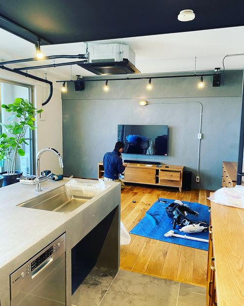 N様邸マンションリノベーションその7 仕上げ工事、家具搬入_c0180474_23525245.jpg