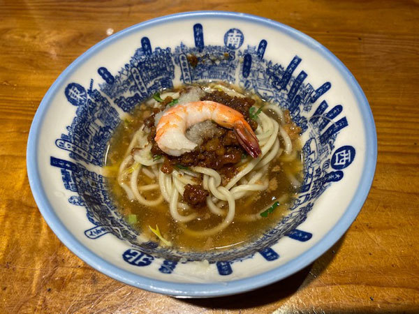 台湾(台南):度小月(台南本店)「担仔麺(タンツーメン)」_b0089578_16293386.jpg