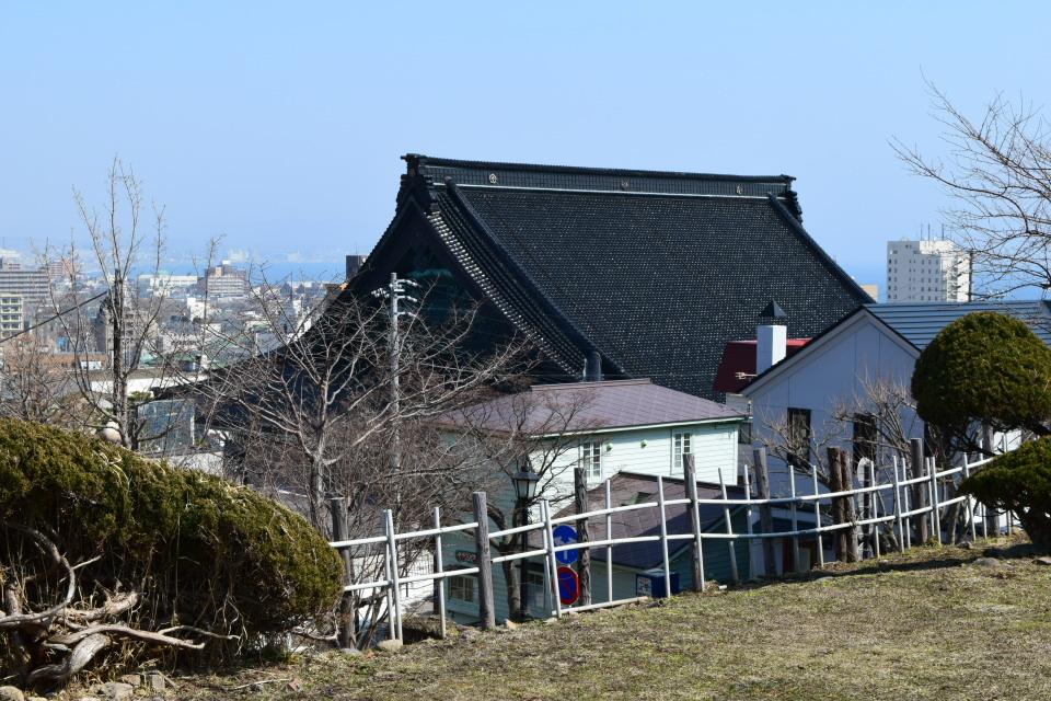 東本願寺函館別院(函館の建築再見)_f0142606_08490514.jpg