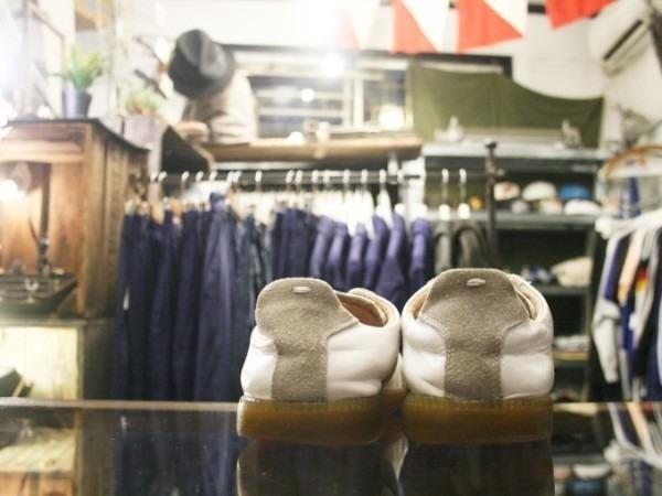 遅くなっちゃったので簡単に 入荷マルタンマルジェラ22スニーカー、革靴、ブーツ_f0180307_01505553.jpg