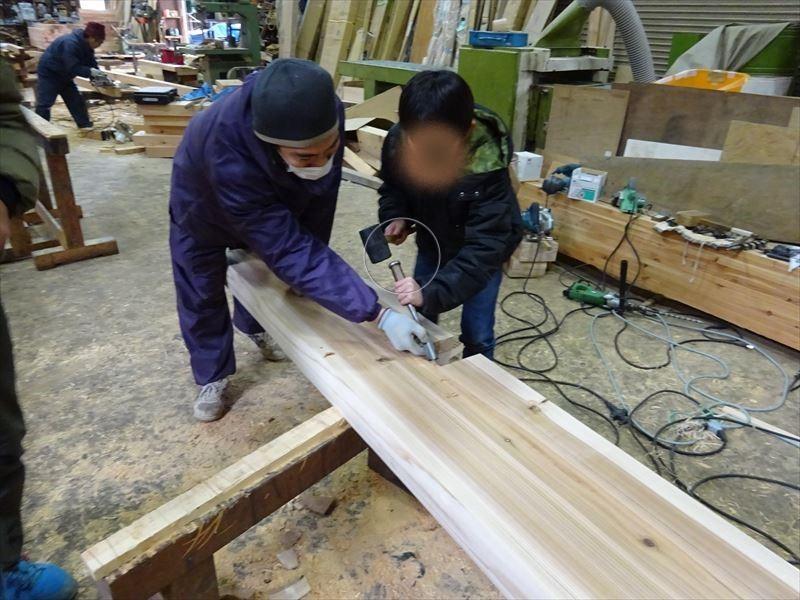 田沢湖の家 大工の刻み、進行中です!_f0105112_04051341.jpg