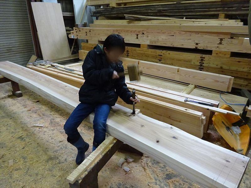 田沢湖の家 大工の刻み、進行中です!_f0105112_04051382.jpg