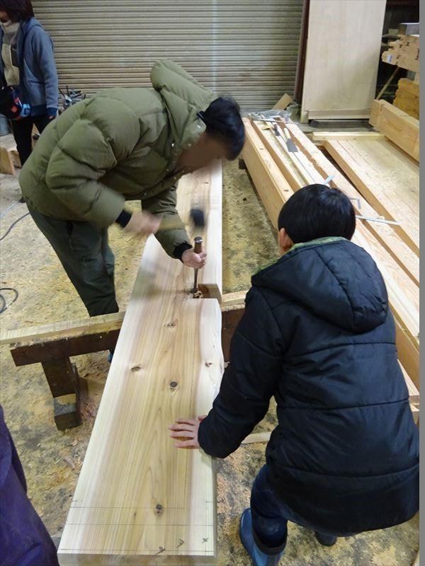 田沢湖の家 大工の刻み、進行中です!_f0105112_04134554.jpg