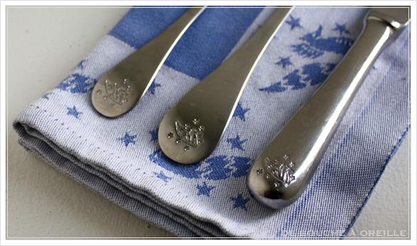 """service de table pour deux エールフランスの食器たち """"Air Franceに乗って... """" フランスアンティーク_d0184921_13533864.jpg"""