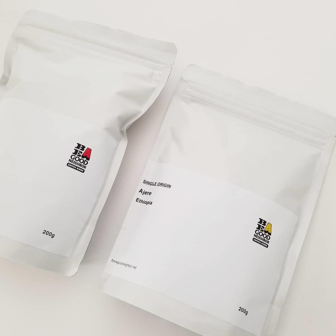 GOOD NEIGHBORS' のオリジナルコーヒー豆_f0120026_17333142.jpg