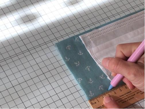手縫いOK!2か所縫うだけ『使い捨てマスク』を挟んで使えるガーゼマスクの作り方♪_f0023333_21271693.jpg
