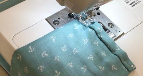 手縫いOK!2か所縫うだけ『使い捨てマスク』を挟んで使えるガーゼマスクの作り方♪_f0023333_21291768.jpg