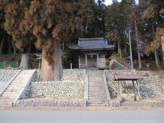 白鬚神社(八百津町久田見2867) : 神社好きのページ