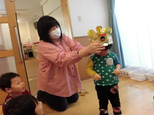 豆まき誕生会(1・2歳児)_c0352066_15015552.jpg