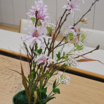 オークリーフ(絵画教室の花12)_f0049672_19393312.jpg