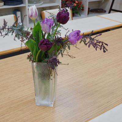 オークリーフ(絵画教室の花12)_f0049672_19393774.jpg