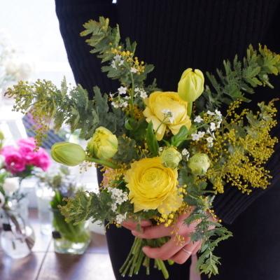 オークリーフ花の教室(大野さんと甲斐さんの作品)_f0049672_19394055.jpg