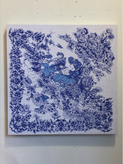 vintage fabric panel / DENMARK_c0139773_12344345.jpg