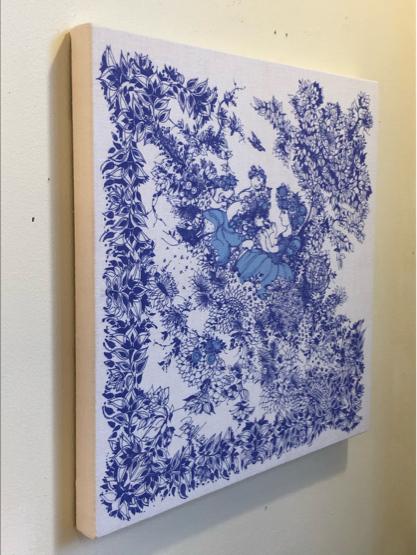 vintage fabric panel / DENMARK_c0139773_12344559.jpg