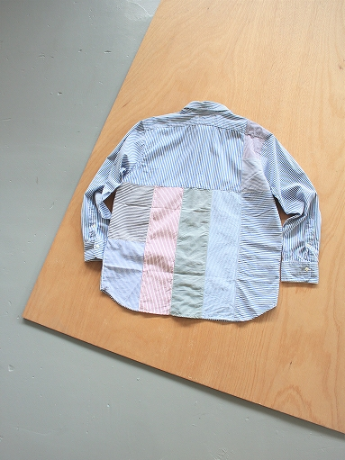 SLIDER STORE × WEST\'S(WESTOVERALLS) Crazy Shirt - Stripe_b0139281_1510619.jpg
