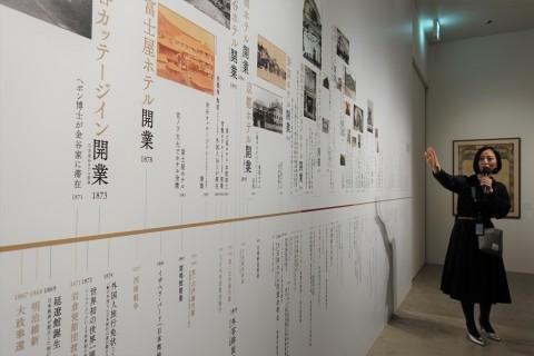 建築倉庫ミュージアム「クラシックホテル展」内覧会に参加してきました_b0053082_18342597.jpg