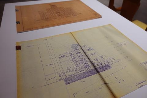 建築倉庫ミュージアム「クラシックホテル展」内覧会に参加してきました_b0053082_18342634.jpg