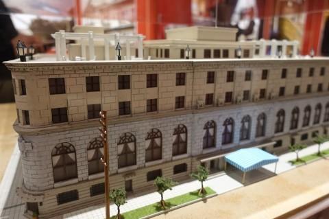 建築倉庫ミュージアム「クラシックホテル展」内覧会に参加してきました_b0053082_18342654.jpg