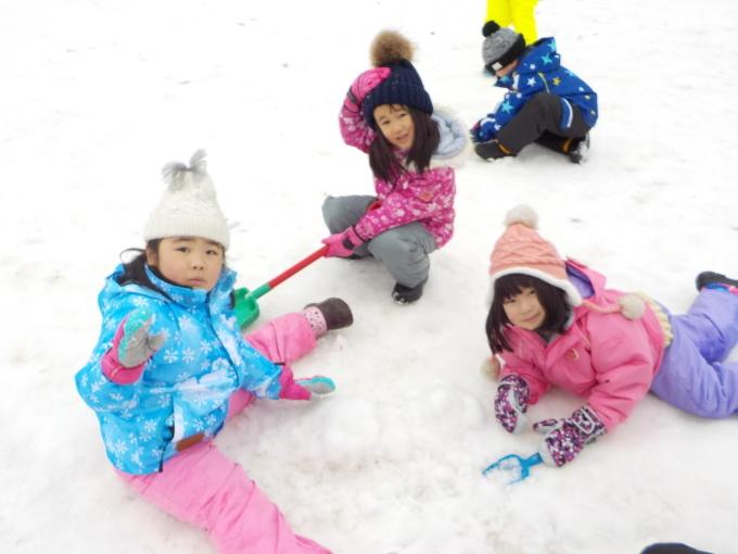 雪遊び 1月_c0197584_13183253.jpg