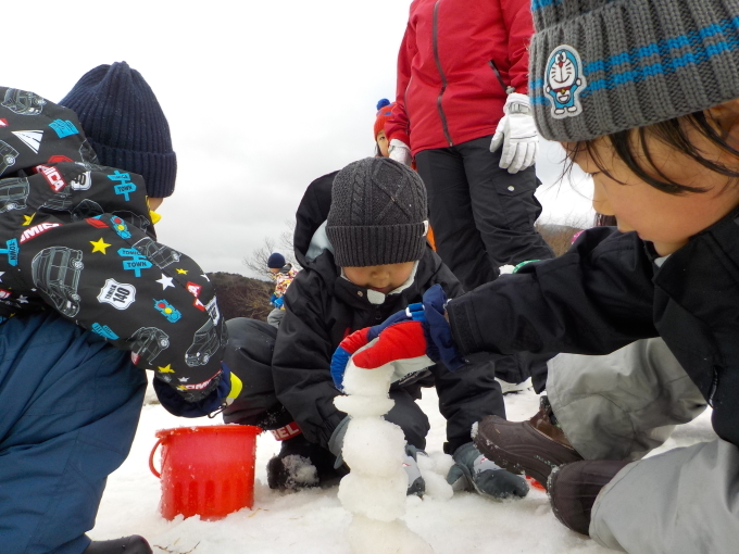 雪遊び 1月_c0197584_13185349.jpg