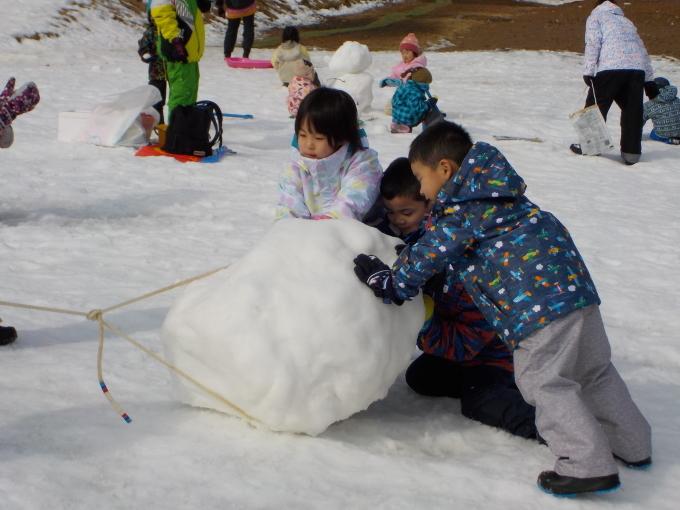 雪遊び 2月_c0197584_13481287.jpg