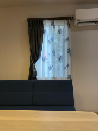 こだわりのカーテンに包まれた生活 お家訪問_f0196294_14315271.jpg