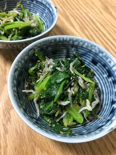 美味しい小松菜_f0204295_14522327.jpg