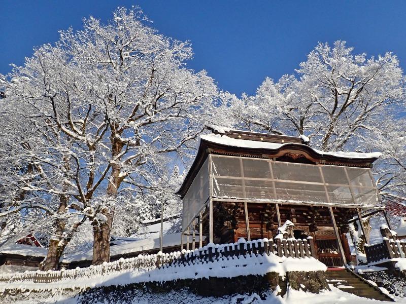 浦佐の美しい冬景色を見ることが出来ました!_c0336902_16523098.jpg