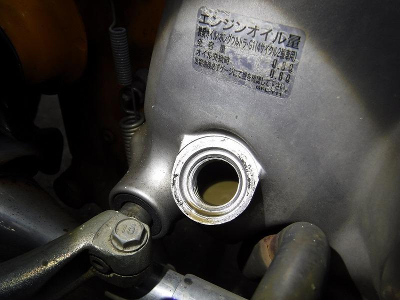 リトルカブネグレクト車両メンテナンス_e0157602_19295460.jpg
