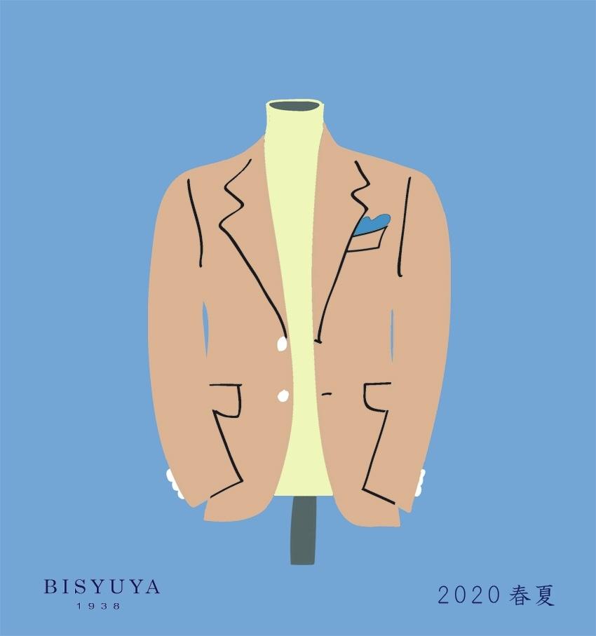 コットンにリネンに、ジャケット生地が変わり、季節が変わる。_b0081010_21044626.jpeg