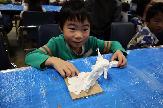 やと子ども美術教室 ~ 粘土で遊ぼう ~_e0222340_14202933.jpg