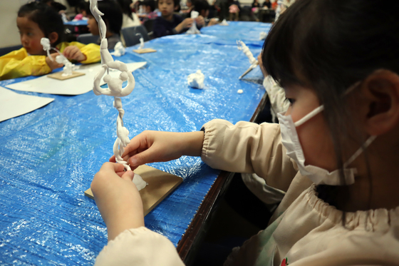やと子ども美術教室 ~ 粘土で遊ぼう ~_e0222340_14215848.jpg