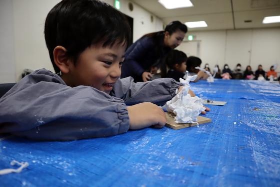 やと子ども美術教室 ~ 粘土で遊ぼう ~_e0222340_14232937.jpg