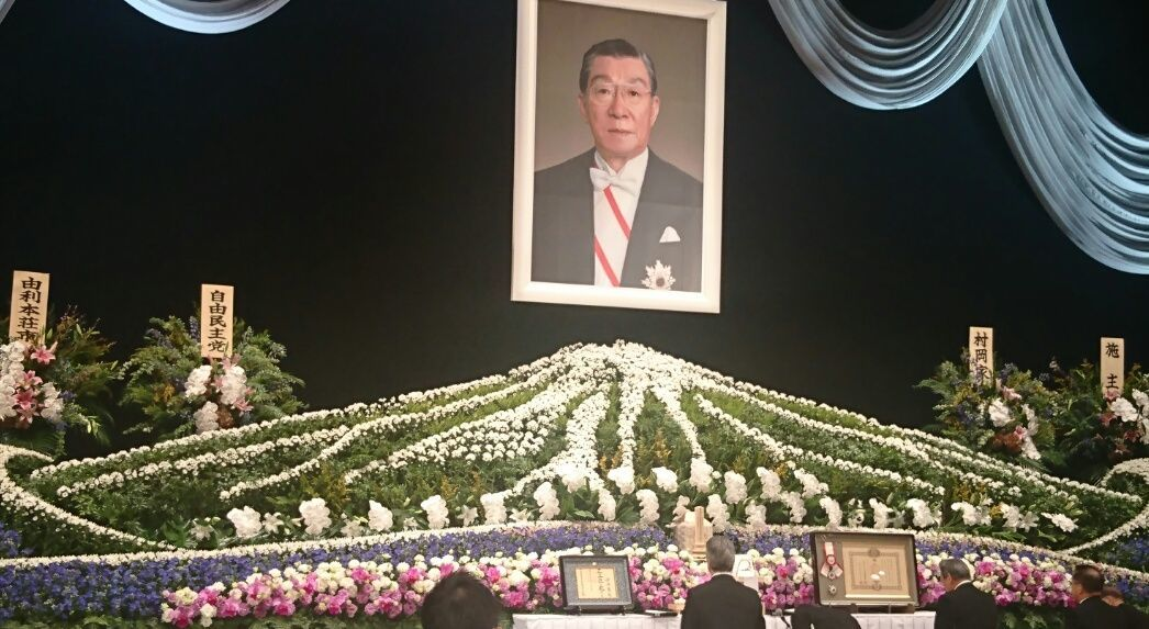 故村岡兼造氏の葬儀_f0081443_22105391.jpg