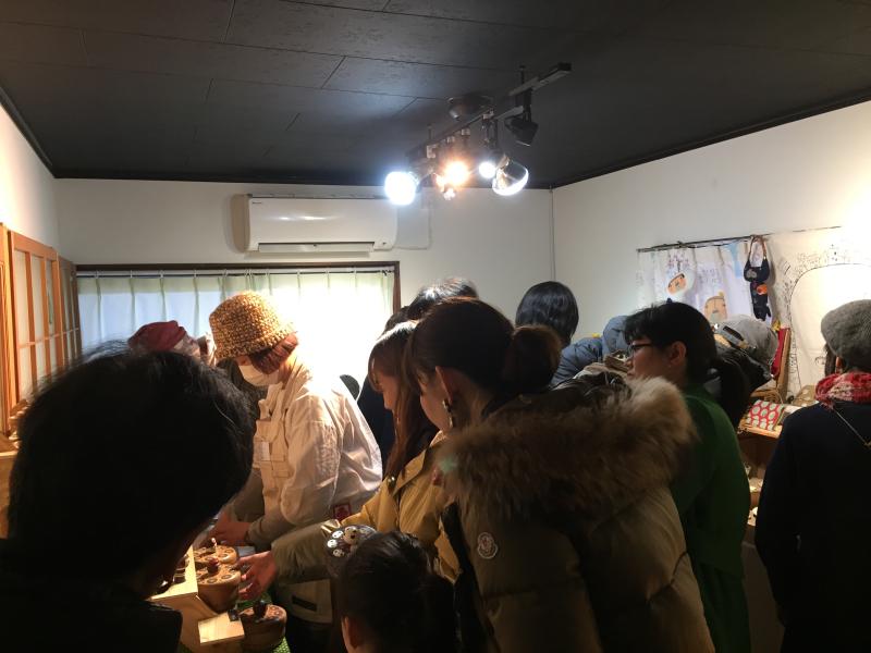 TANEYA カフェ百時 さんで開催の 「つなぐてしごと」vol.4 _c0074553_16412891.jpg