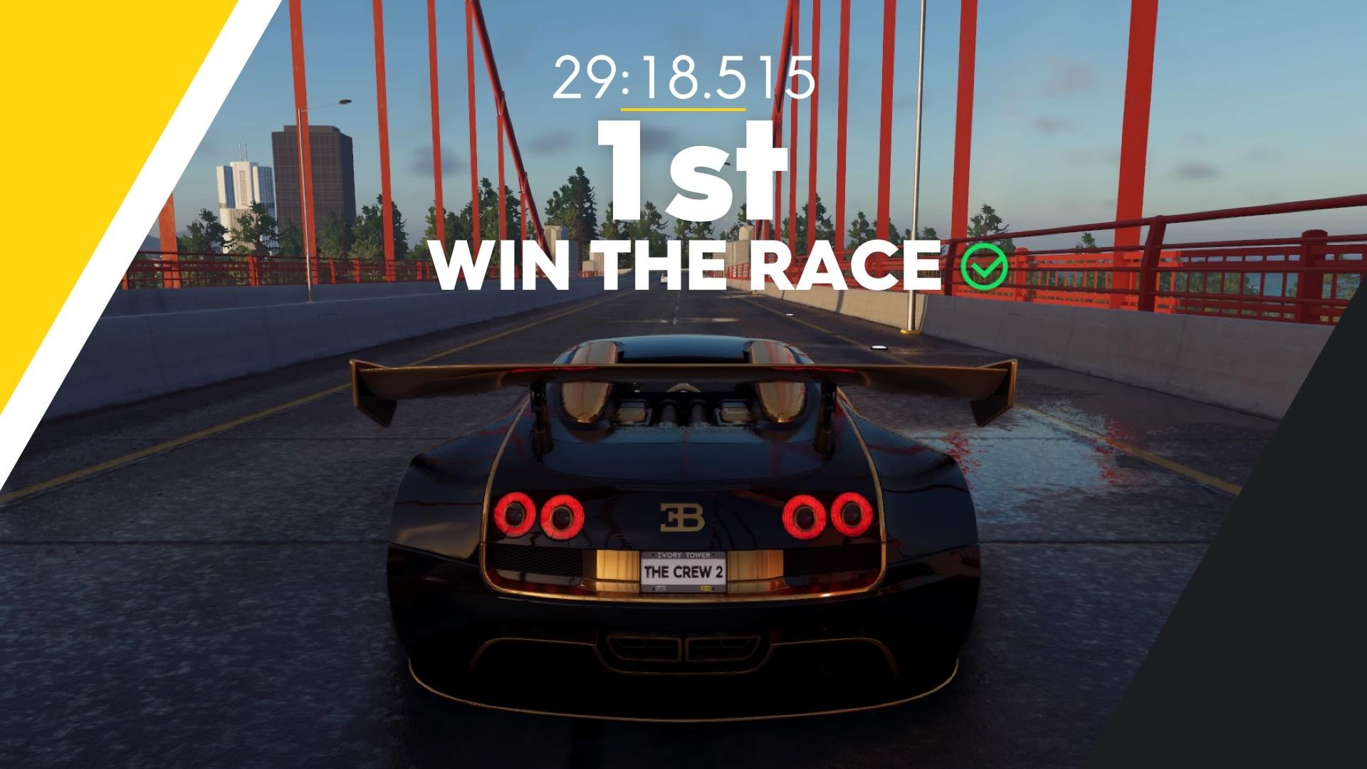 ゲーム「THE CREW2 P1でライブリワード探しの旅 & Veyron Edition Oneで走りまくる」_b0362459_22170737.jpg