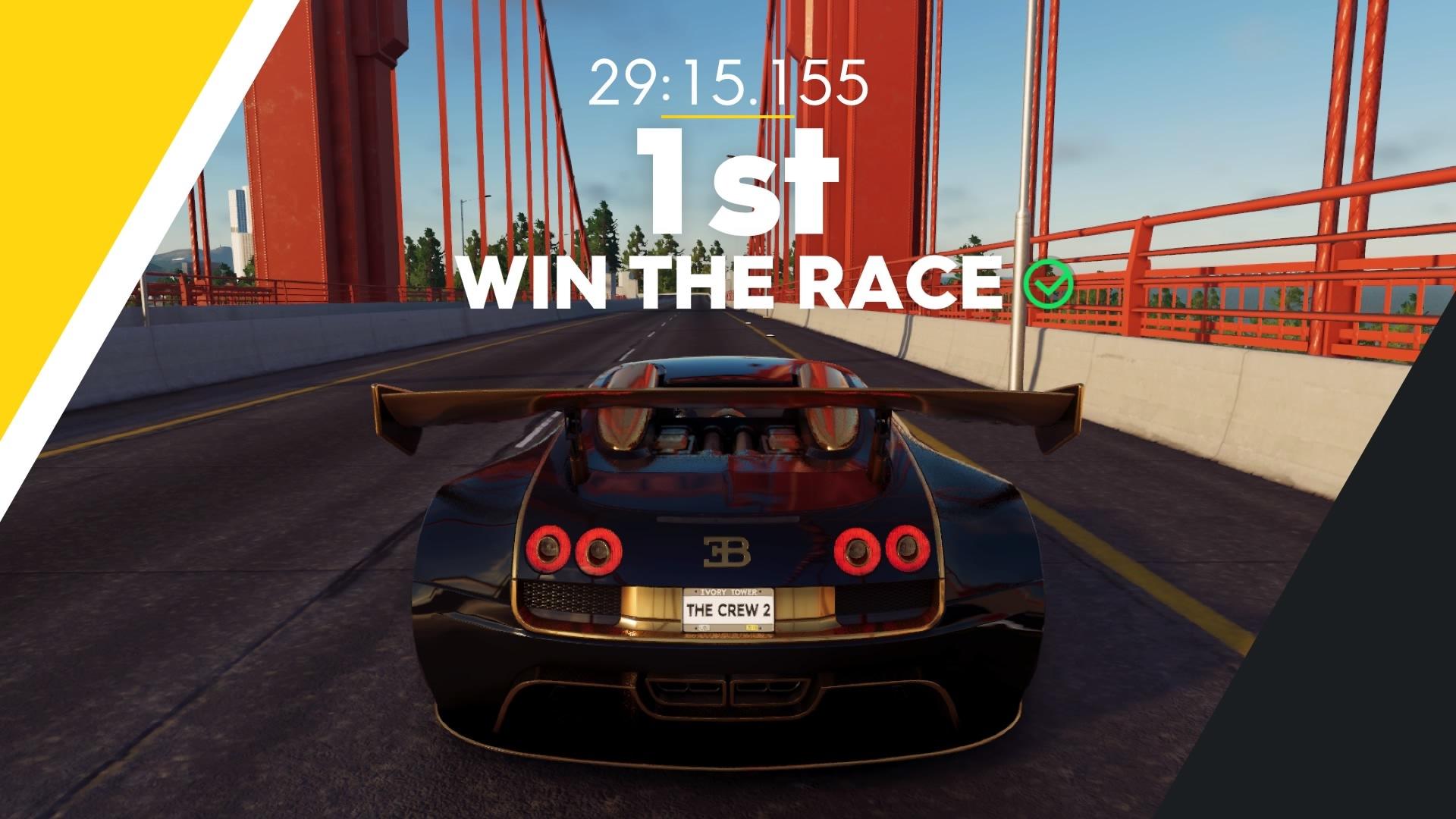 ゲーム「THE CREW2 P1でライブリワード探しの旅 & Veyron Edition Oneで走りまくる」_b0362459_22185074.jpg