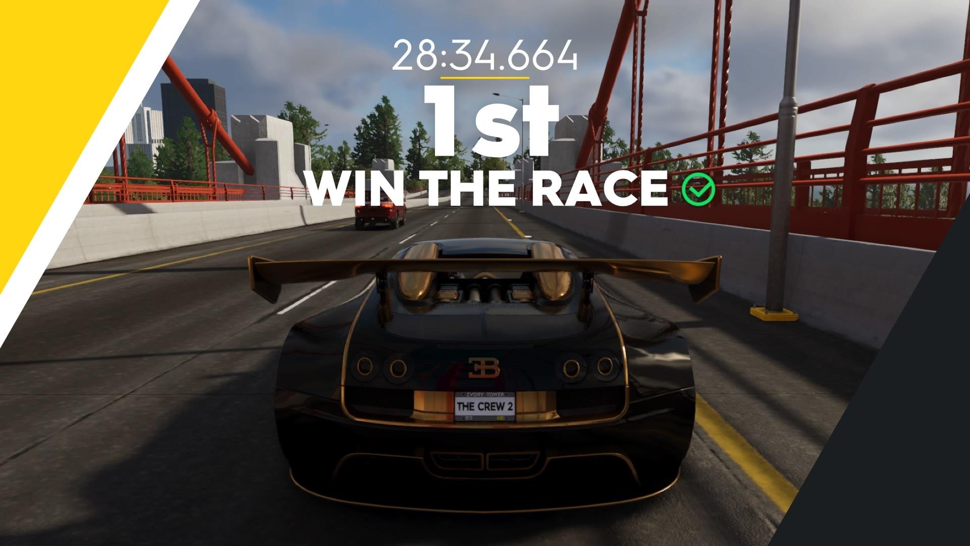 ゲーム「THE CREW2 P1でライブリワード探しの旅 & Veyron Edition Oneで走りまくる」_b0362459_22203785.jpg