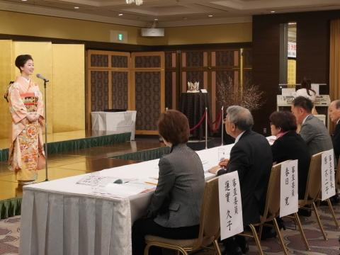 第28代日本さくらの女王選出大会に出席2・8_c0014967_09014508.jpg