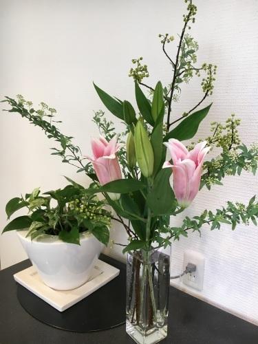 先週のお花と今日の夜ご飯_f0347891_22080818.jpeg