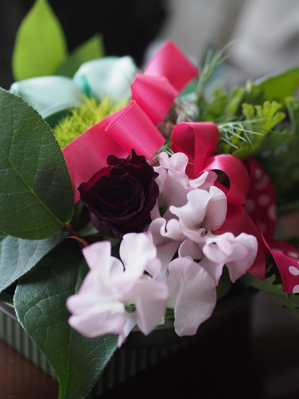 春のお花deアレンジメント_d0144095_14244061.jpg