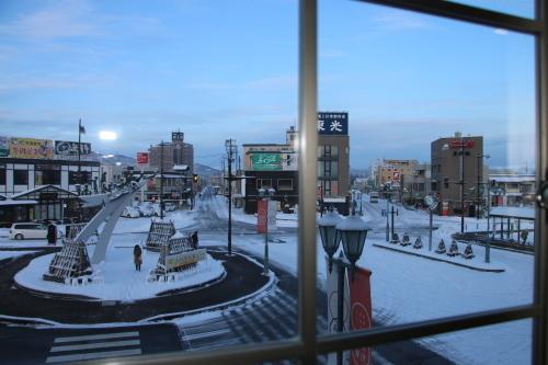 朝の米沢駅 2020.2.10_c0075701_07495199.jpg