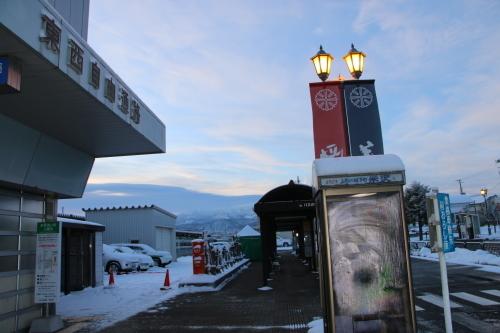 朝の米沢駅 2020.2.10_c0075701_07500368.jpg