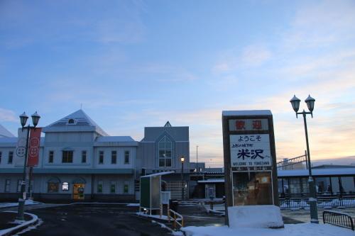 朝の米沢駅 2020.2.10_c0075701_07501650.jpg