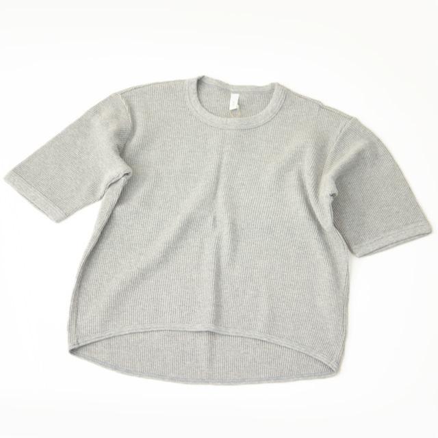 prit [プリット] 30/1 WS 引き揃えワッフル5分袖プルオーバー [P91021] コットンTシャツ・ LADY\'S _f0051306_17175545.jpg