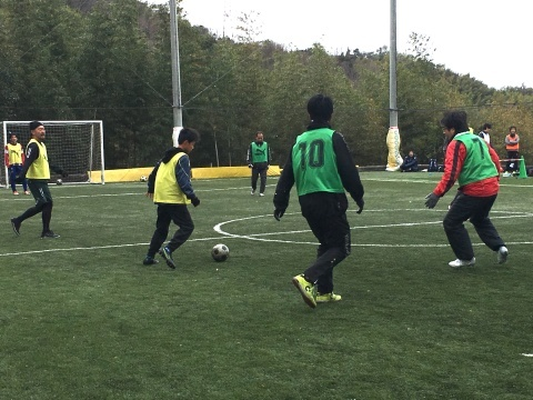 ゆるUNO 2/9(日) at UNOフットボールファーム_a0059812_18561140.jpg