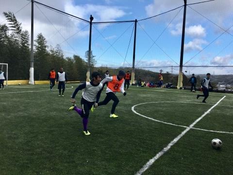 ゆるUNO 2/9(日) at UNOフットボールファーム_a0059812_18563079.jpg